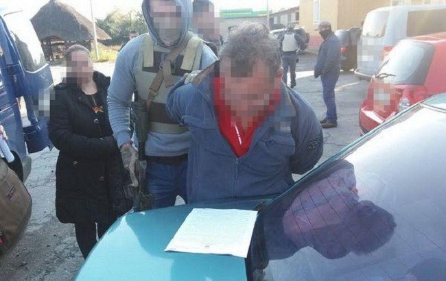 Фото: затримання російского шпигуна