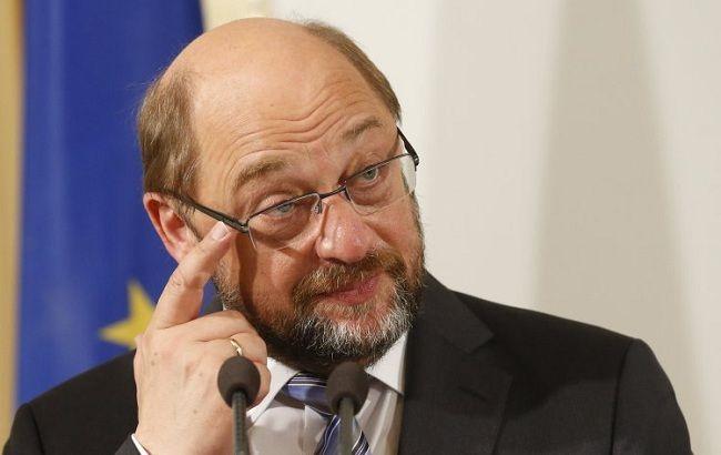 """Фото: президент Европарламента Мартин Шульц (""""УНИАН"""")"""