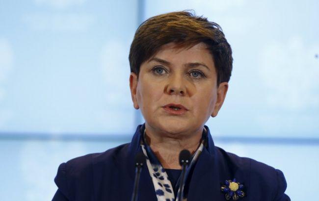 Фото: прем'єр-міністр Польщі Беата Шидло