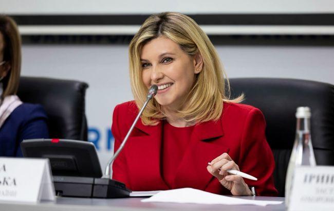 Зеленська взяла участь у презентації нових послуг для людей з порушеннями слуху