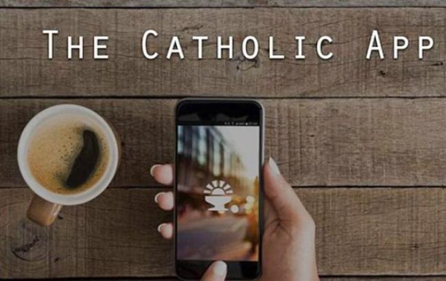 Фото: у Католицькій церкві з'явився мобільний додаток
