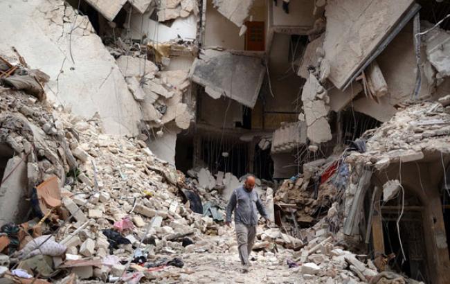 Фото: Руйнування в Сирії (reuters.com)