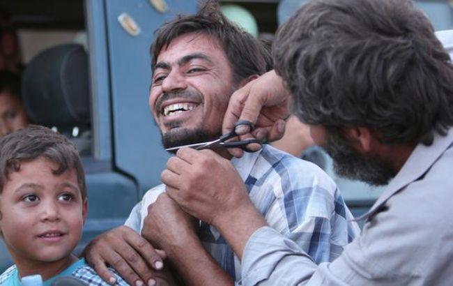 Восвобожденный отИГ сирийский город Манбидж вернулись граждане