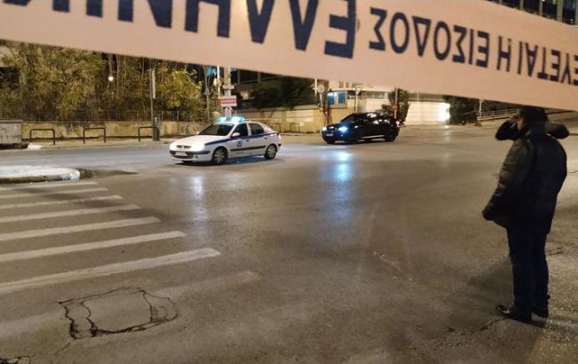 В Греции прогремел взрыв возле здания телеканала