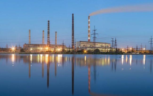 Славянская ТЭС остановлена из-за отсутствия средств на закупку угля
