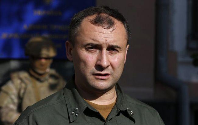 Фото: помощник председателя Госпогранслужбы Олег Слободян