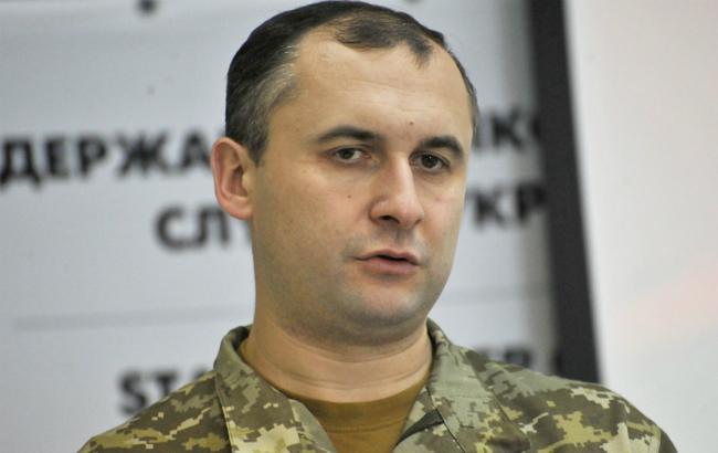 Фото: помощник председателя Госпогранслужбы Украины- пресс-секретарь ГПС Олег Слободян (Укринформ)