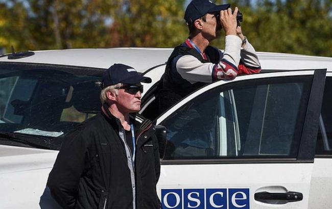 Фото: специальная мониторинговая миссия (СММ) ОБСЕ в Украине