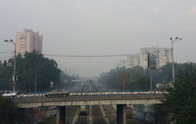 Фото: ситуация с загрязнением воздуха в Киеве улучшилась