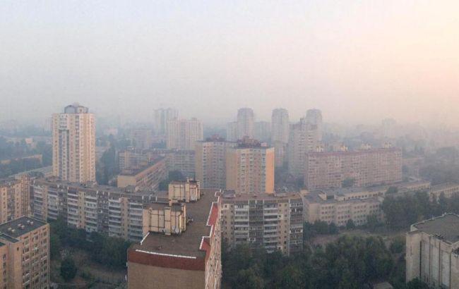 Смог у Києві 3 вересня