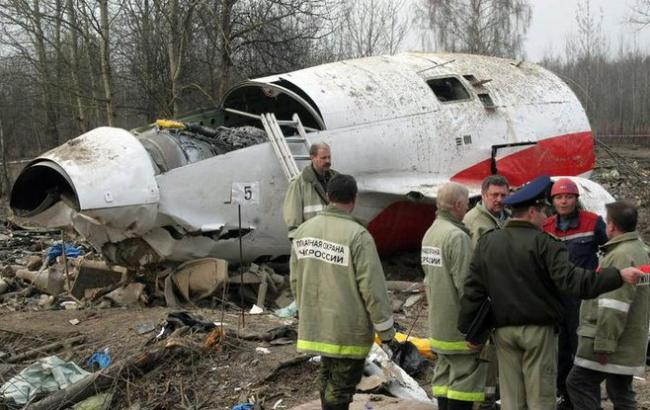 Смоленская катастрофа: в гробу Качиньского обнаружили останки других тел