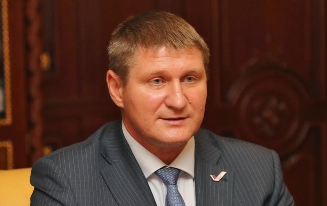 """Фото: """"перший віце-прем'єр кримського уряду"""" Михайло Шеремет"""