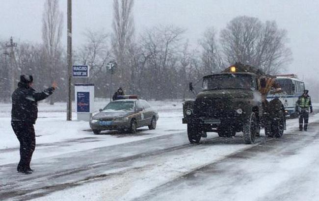 Фото: автомобільний рух в Миколаївській області