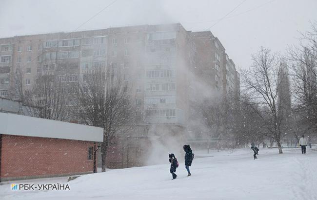 Впервые дни марта вЗапорожье из-за непогоды закроют все школы