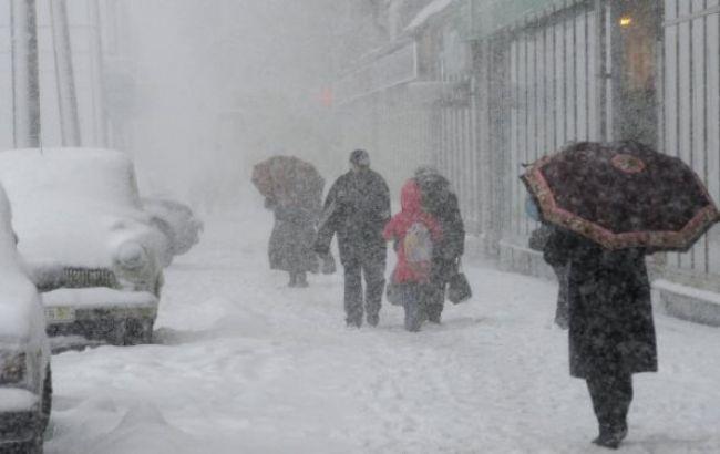 Фото: 10-11 січня очікується погіршення погодних умов