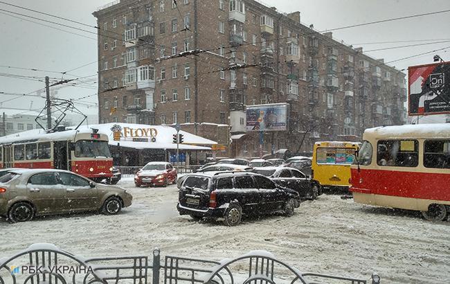 Фото: в Україні очікується сніг (РБК-Україна)