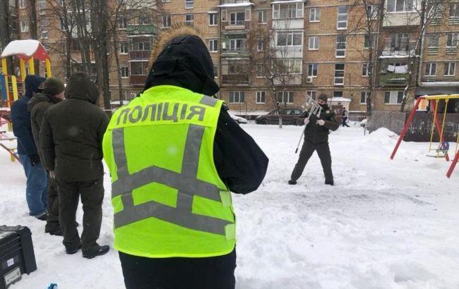 Вибух на дитмайданчику в Києві: порушено дві справи