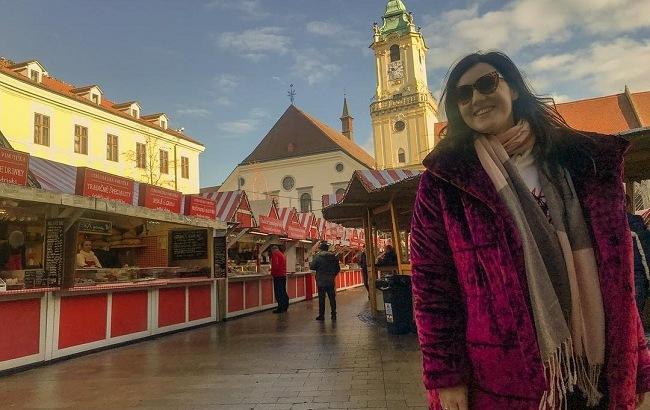 """""""Ощущение праздника"""": украинская ведущая показала яркую Вену"""