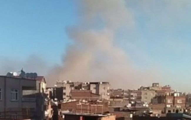 Фото: взрыв произошел на юго-востоке Турции