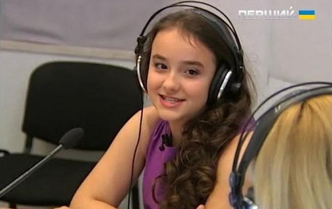 Фото: София Роль определена победительницей национального отбора (youtube.com)