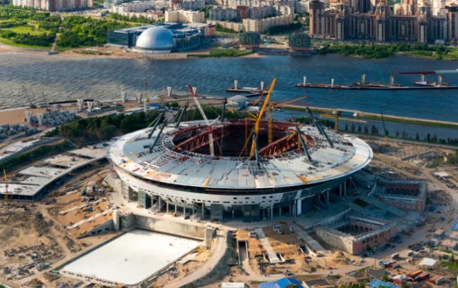 """Фото: Стадіон """"Зеніт-Арена"""" (spostroy.ru)"""