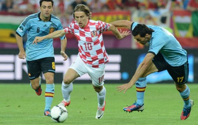 Фото: Хорватия - Испания