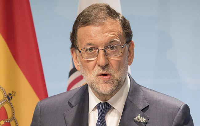 Премьер Испании оспорил вКонституционном суде референдум вКаталонии