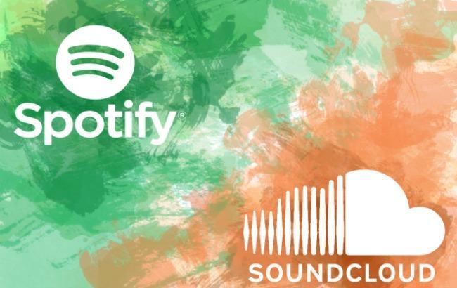 Spotify ведет переговоры по закупке сервиса Soundcloud