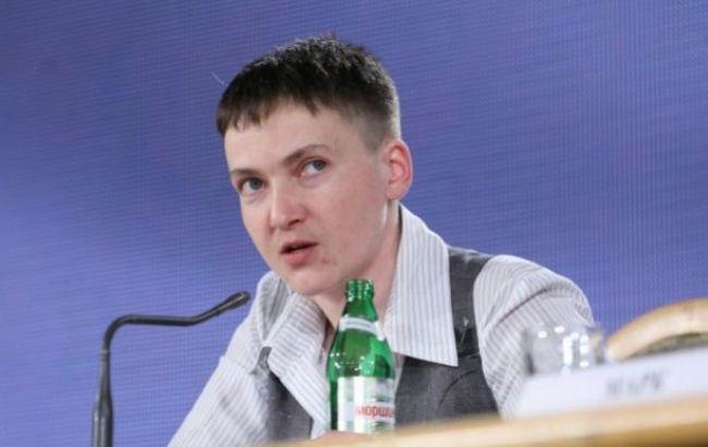 Фото: народний депутат Надія Савченко