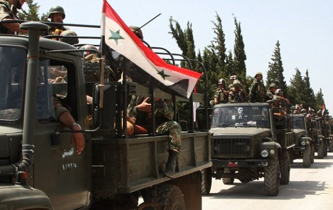 Фото: правительственные войска Сирии возобновили наступление в сельской местности Дамаска