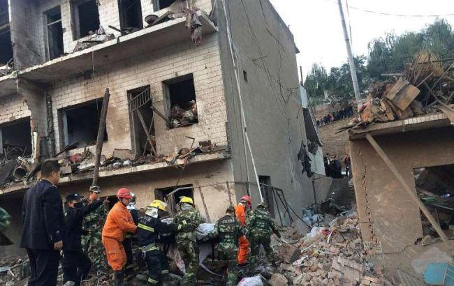 Фото: в Китае произошел взрыв