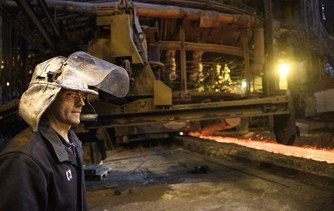 Виробництво сталі в Україні в серпні збільшилася на 0,5%