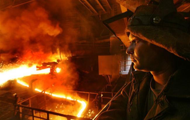 Виробництво сталі в Україні у вересні скоротилося на 3,6%
