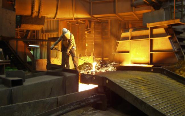 Виробництво сталі в Україні в лютому скоротилося на 16,3%