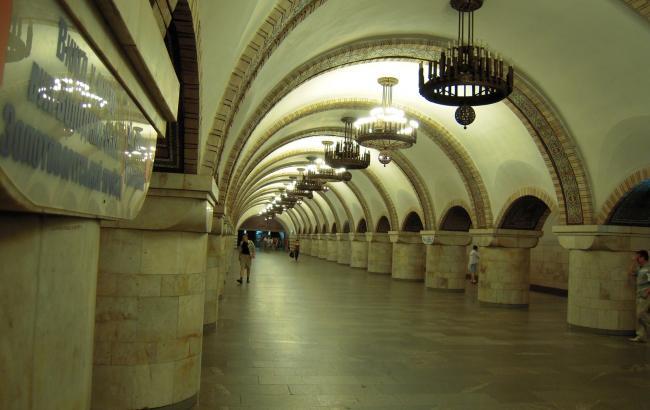 """Фото: станція метро """"Золоті ворота"""""""