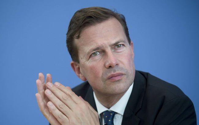 Фото: представитель правительства Германии Штеффен Зайберт