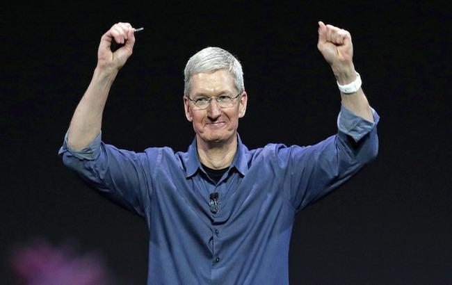 Тим Кук обналичил 30 тыс. акций Apple за3,6 млн долларов