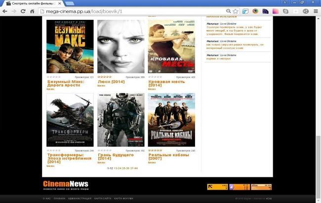 ВУкраинском государстве закрыли очередной пиратский онлайн-кинотеатр