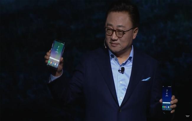 Samsung презентував нові флагманські смартфони Galaxy S8 і Galaxy S8+