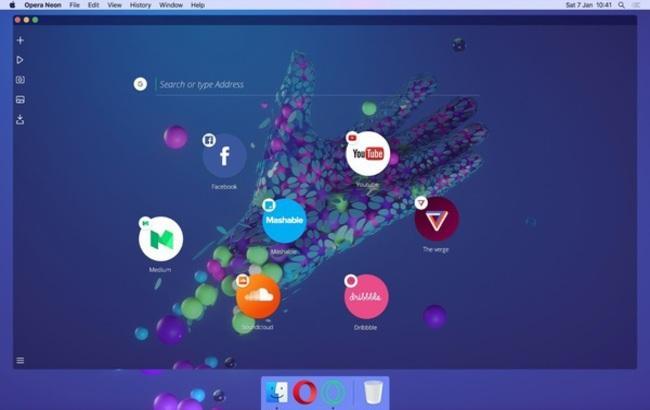 Фото: новий браузер від Mozilla отримав незвичайний інтерфейс