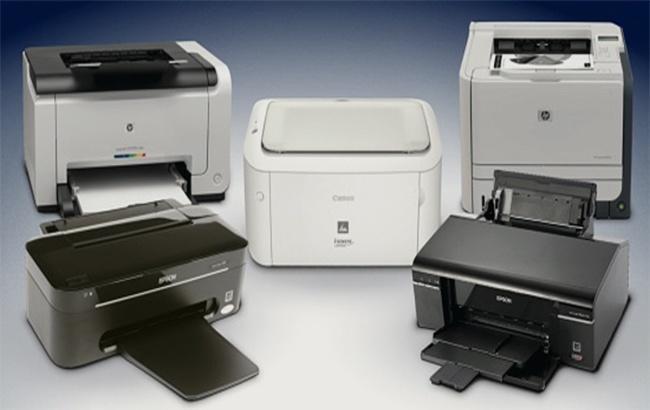 Рынок печатающей техники вмире уменьшился на4% вследующем году