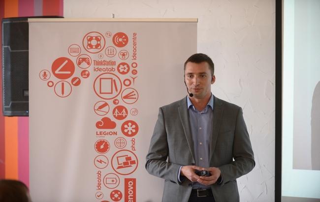 Фото: новий гендиректор Lenovo в Україні Тарас Джамалов