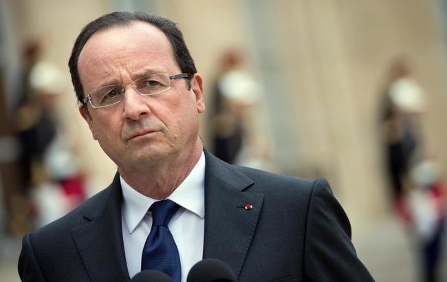 Фото: президент Франции Франсуа Олланд