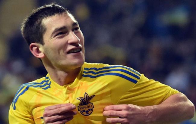 Фото: Один из самых дорогих футболистов Украины в 2016 году Тарас Степаненко