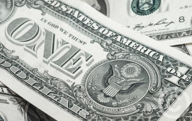 Курс доллара на межбанке в 13:00 увеличился до 26,27 грн/доллар
