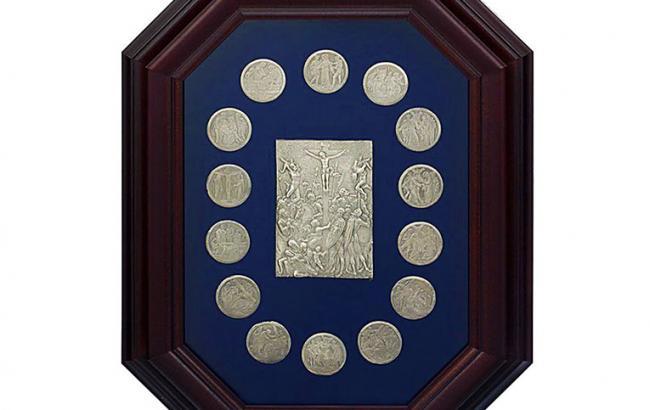 """Фото: колекційна монета """"Страсті Христові"""""""