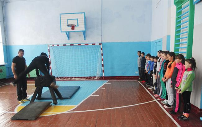 Фото: Урок физкультуры (strusivinternat.com.ua)