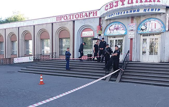 Фото: Место взрыва (su.npu.gov.ua)
