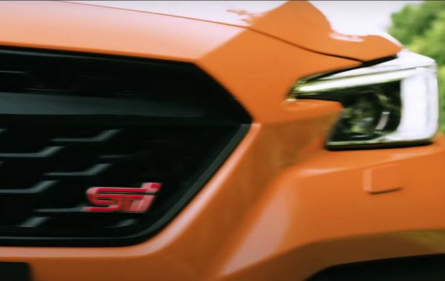 Subaru дразнит спортивным седаном WRX с притягательной эмблемой STI