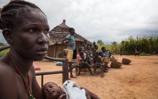 Фото: война в Южном Судане (twitter.com-UNICEFEMOPS)